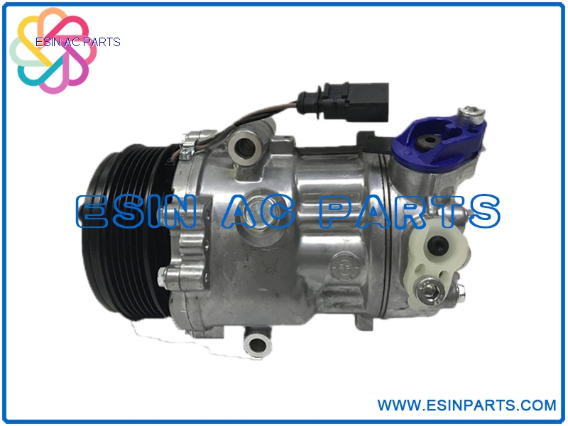 SD6V12 Auto Air Conditioning Compressor For VW Polo SKODA CITIGO 6RD820803 1S0820803C