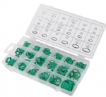 270pcs O-Ring High Pressure Set  A/C Air Gas Oil Proof Assortment Green