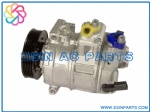 DENSO 7SEU17C Auto Air Conditioning Compressor For VW/ AUDI SKODA SEAT 1K0820803F